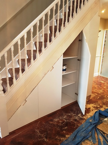 LocalJurisdiction fitted bespoke under stairs storage just draws