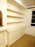 Merton fitted alcove units