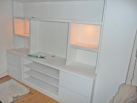 London shelves